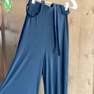Nasty Gal High Waist Slinky Wide Leg Trouser
